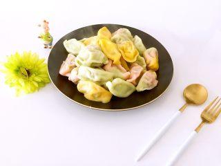 蒿子杆猪肉馅饺子,色淡雅,味清爽、鲜美👍👍