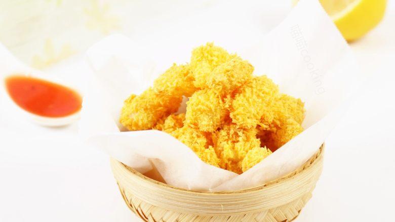 香烤鱼米花