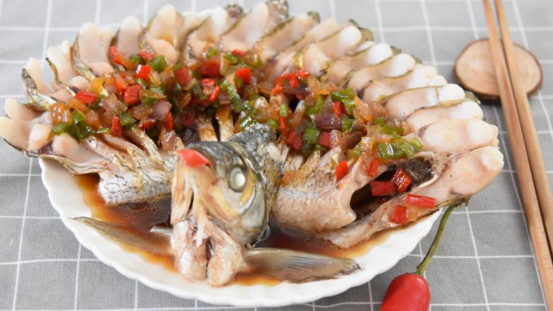 谁说厨神才会做,2分钟学会这道花开富贵鱼