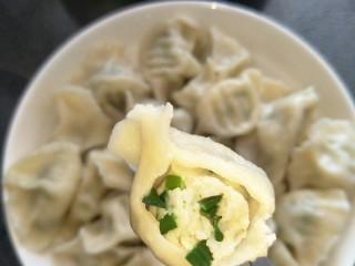 鱼馅饺子+槐花肉饺子,鲈鱼韭菜出锅啦