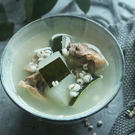 冬瓜薏米老鸭汤
