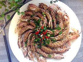 椒盐皮皮虾(虾蛄)