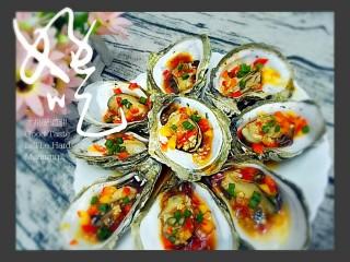 水蒸海蛎子+#人民的美食#