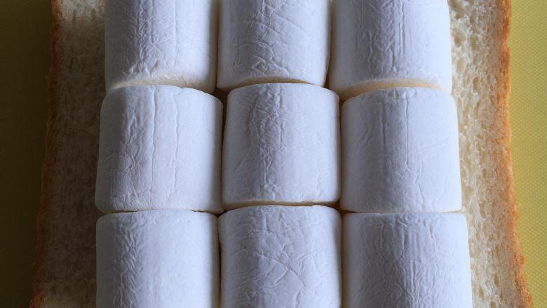 四种方式吃吐司,居中摆放好棉花糖