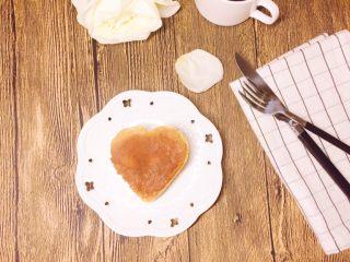 舒芙蕾厚松饼(无泡打粉版),心形
