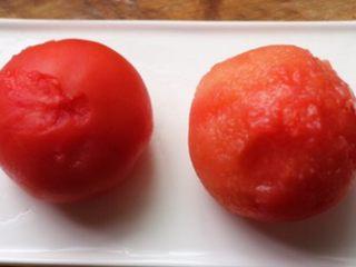 复合番茄汁,番茄去皮