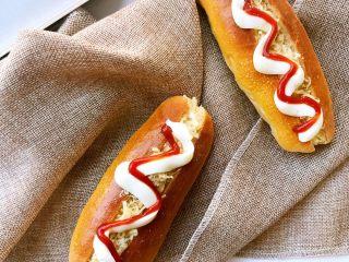 肉松小热狗面包,成品4