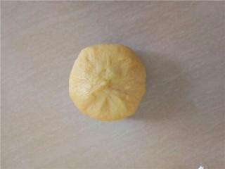 椰蓉花朵面包,收紧收口。