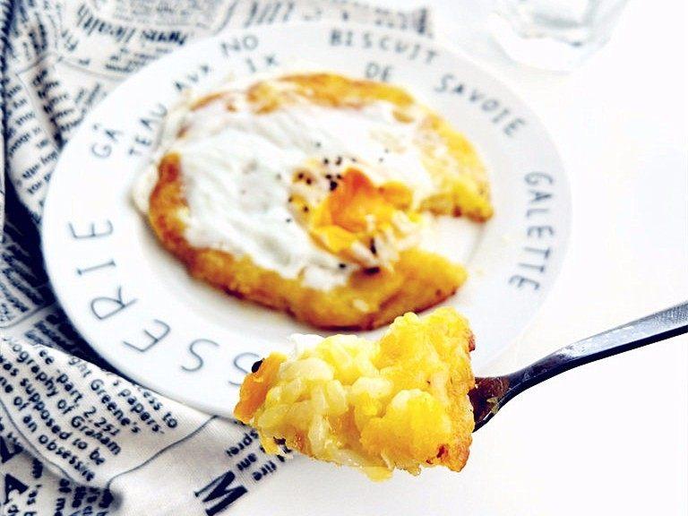 创意南瓜米饭煎蛋饼