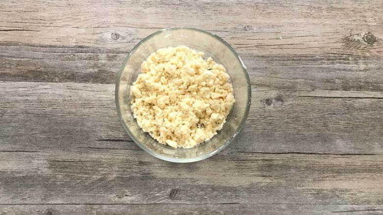 黄桃香酥面包,b.全部材料混合抓匀即可,冰箱冷藏。