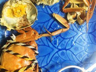 螃蟹螃蟹+#人民的美食#,开吃!