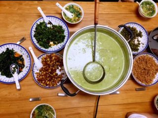 客家擂茶·精品素菜,真好吃!天天都想吃!