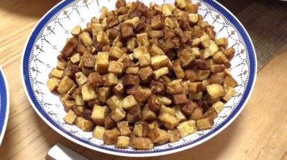 客家擂茶·精品素菜,炒豆腐干