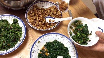 客家擂茶·精品素菜,放豆腐干