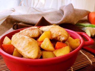干锅土豆鸡翅,成品2
