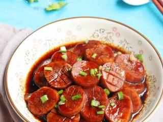 酱烧杏鲍菇,成品图