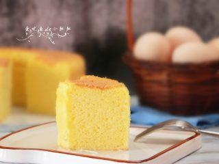 淡奶油戚风蛋糕(后蛋法)