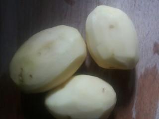 凉拌菜,土豆削皮