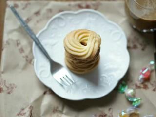 超酥淡奶油曲奇饼干,成品图