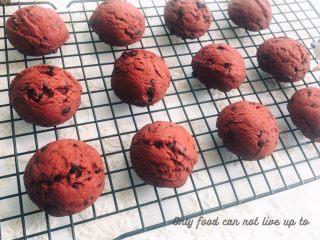 红丝绒巧克力软曲奇