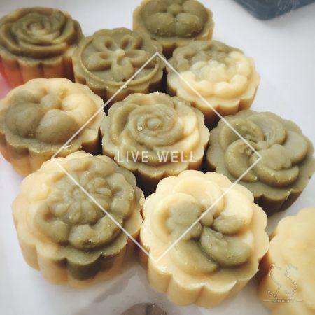 翡翠绿豆冰糕