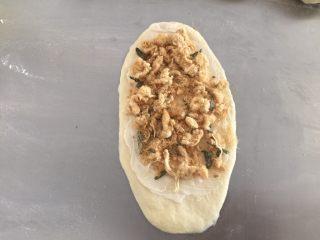 肉松面包(波兰种),放上海苔肉松