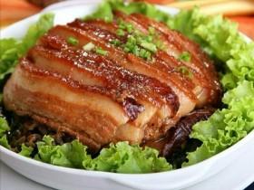 湖南梅干菜扣肉
