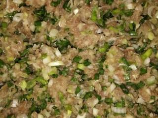 特色小吃,把肉馍剁了就跟葱一起拌,加个鸡蛋在里面一起拌更好吃,如果肉事先没有放过盐,现在就加盐一起拌,因为我肉的是奄肉就不用放盐了。