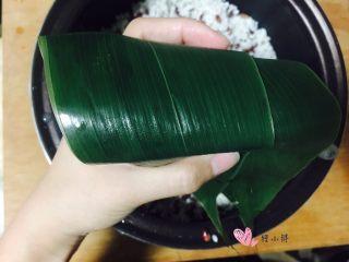 甜粽-红豆粽,包成自己喜欢的形状