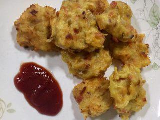 土豆萝卜虾米花