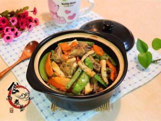 黑椒排骨杂菜锅