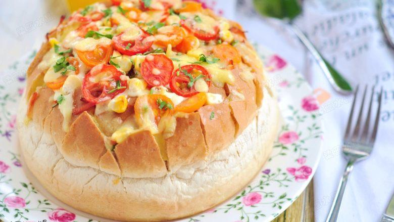 披薩派對面包