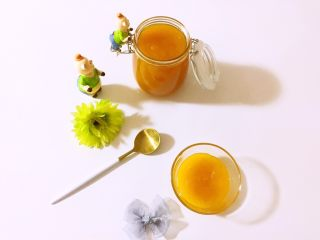 甜杏果酱………酸酸甜甜好味道,再来张成品图看看