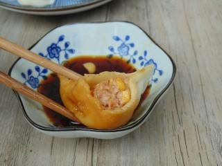 玉米猪肉水饺,成品