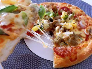 至尊披萨,好吃极了👍