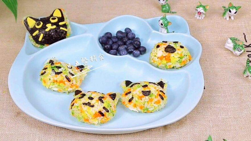 杂蔬鳕鱼猫饭团—宝宝从此爱上吃蔬菜