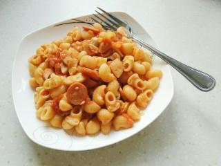番茄蘑菇意面