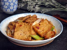 红烧豆腐---两面黄