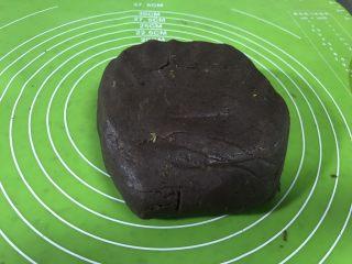 豆沙糕,凉了后就可以塑形了