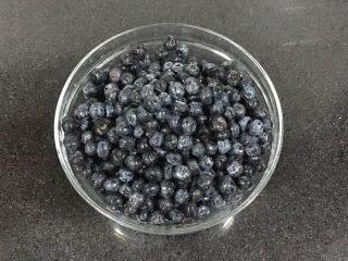 自制蓝莓酱,新鲜的蓝莓,洗净沥水备用。