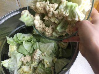 夏日减肥食谱之凉拌菜,放菜花