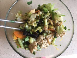 夏日减肥食谱之凉拌菜,搅拌均匀