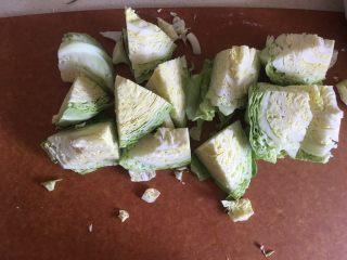 夏日减肥食谱之凉拌菜,切块洗净