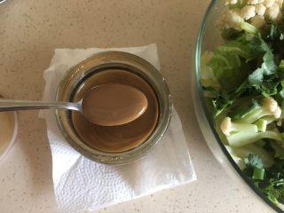 夏日减肥食谱之凉拌菜,麻酱