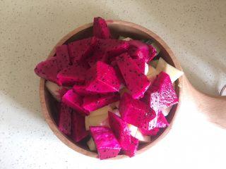 夏日果味酵素饮品,都切块块