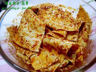 自制豆油皮辣条