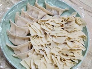 饺子馄饨一锅端!洋葱猪肉饺,饺子加小馄饨