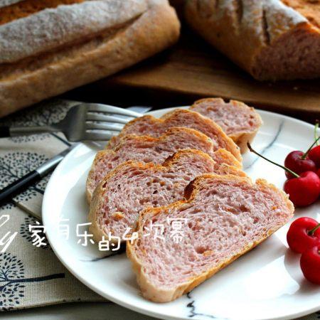 紫薯亚麻籽软欧