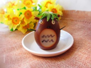 龙猫茶叶蛋,超级可爱的龙猫茶叶蛋,不仅好看更好吃