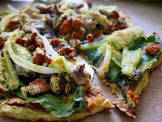 健康低热量披萨,又健康,热量也低